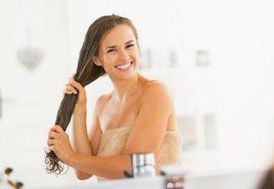 Kokosöl für Haare