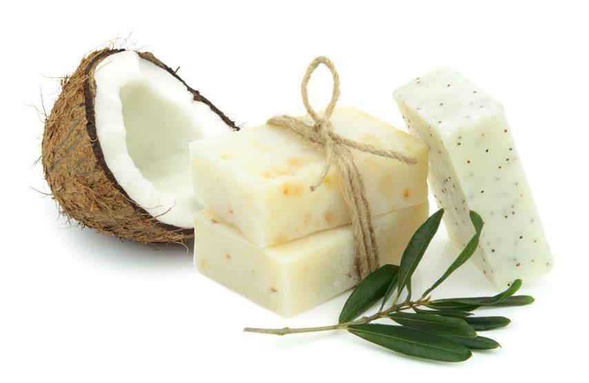 Kokosöl-Pflegeseife
