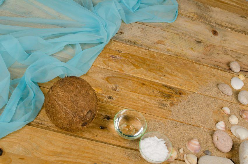 Kokosöl Sonnenschutzcreme