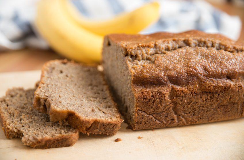 Kokos-Bananen-Brot