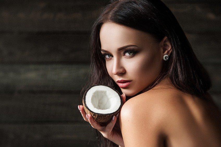 Haut Kokosöl