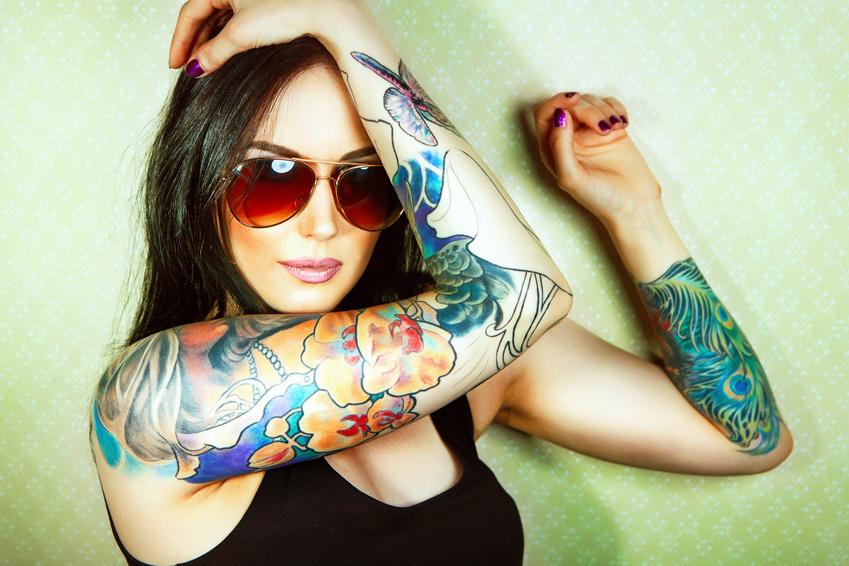 Kokosöl Tattoos