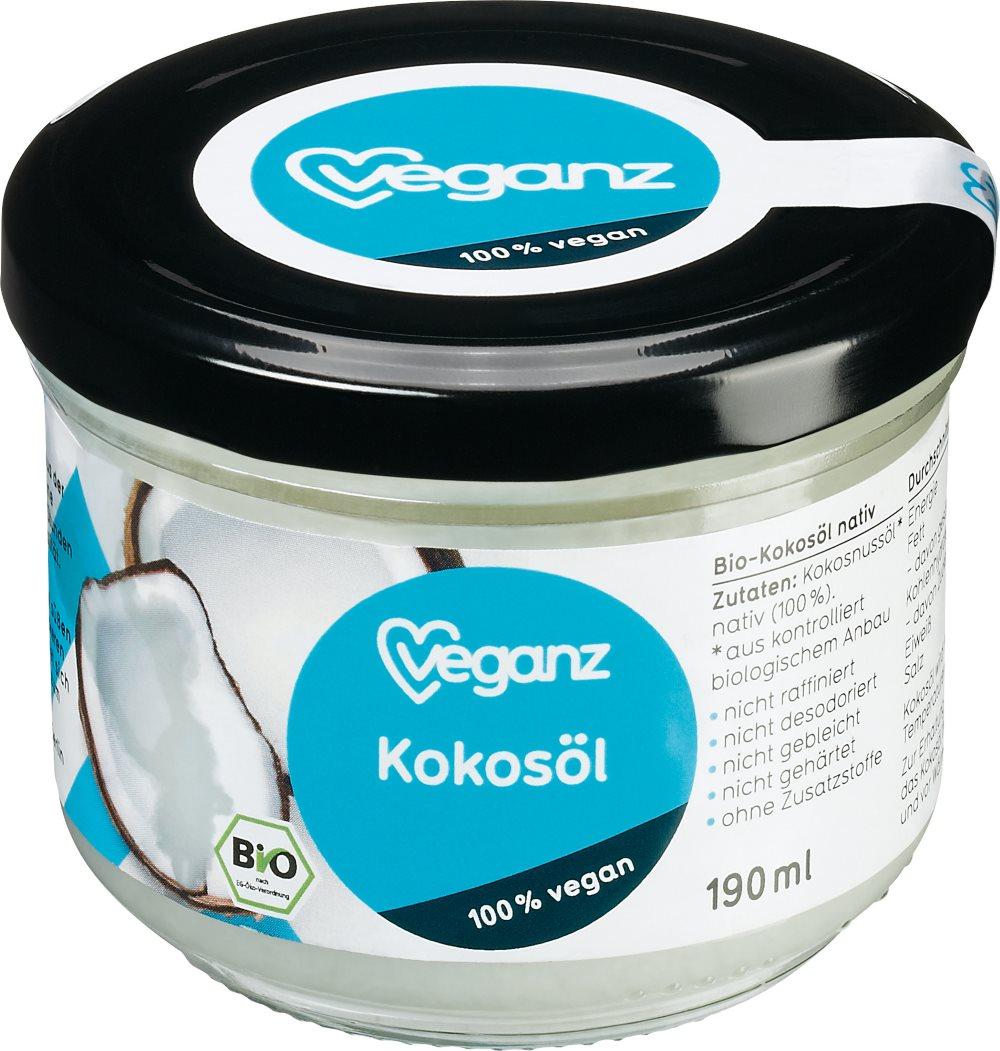 Veganz Kokosöl bei DM