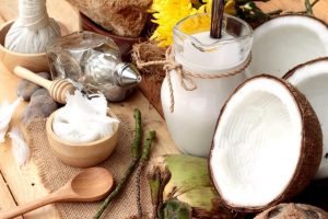 Haarwachs mit Kokosöl