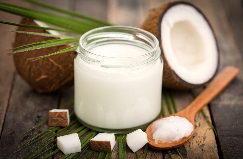 Kokosöl Lippenpflege