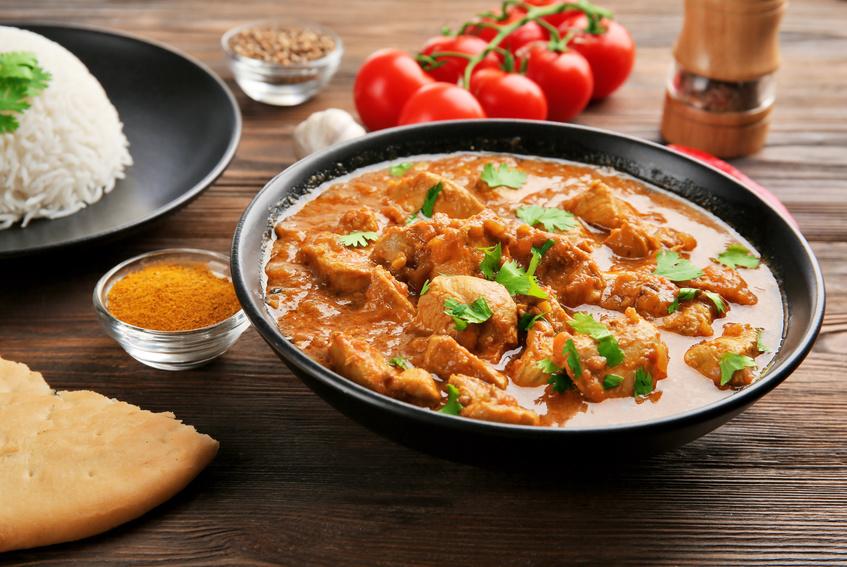 Thai Curry Erdnuss-Kokos-Hühnchen