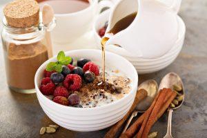 Kokos-Porridge