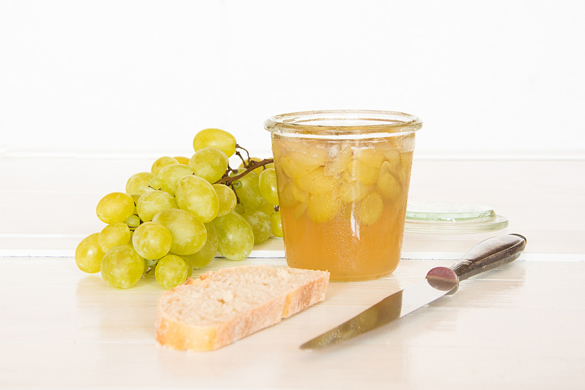 Weintrauben Gelee