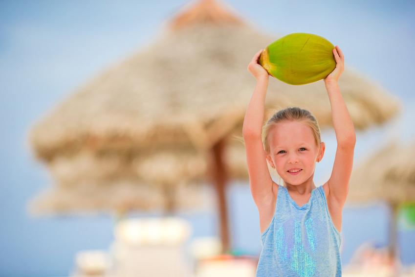 Kokosöl für Kinder