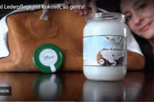 Lederpflege mit Kokosöl