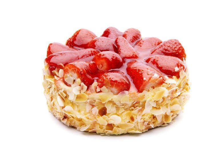 Erdbeer-Kokos-Mandel-Kuchen