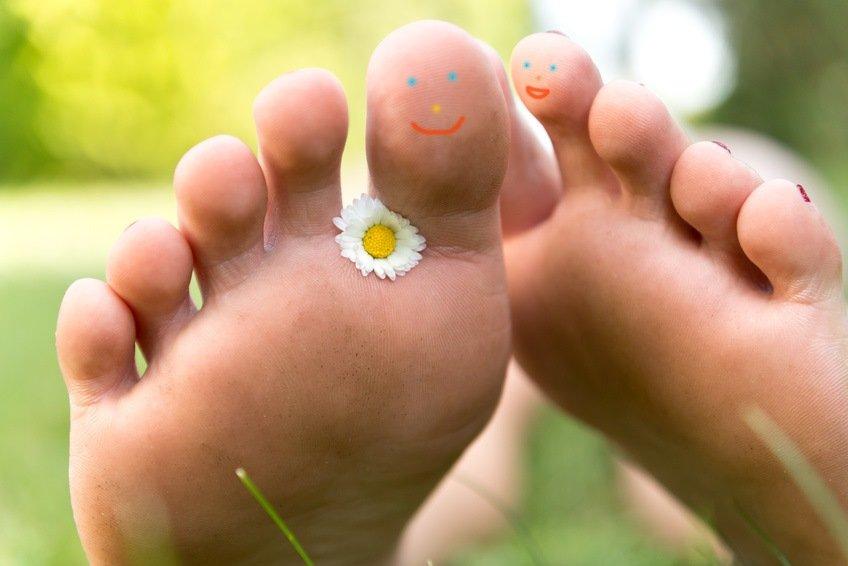 Fußpflege mit Kokosöl