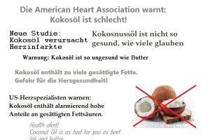 Komplott gegen Kokosöl