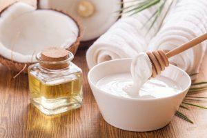 Kokosöl-Duschgel