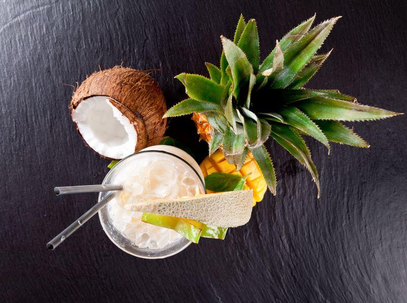 Cocktail mit Kokosöl