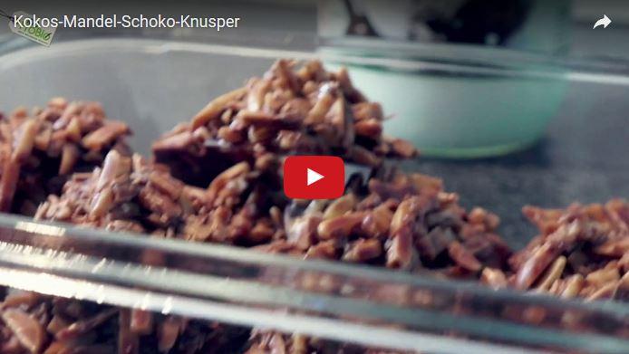 Schoko-Knusper mit Kokosöl