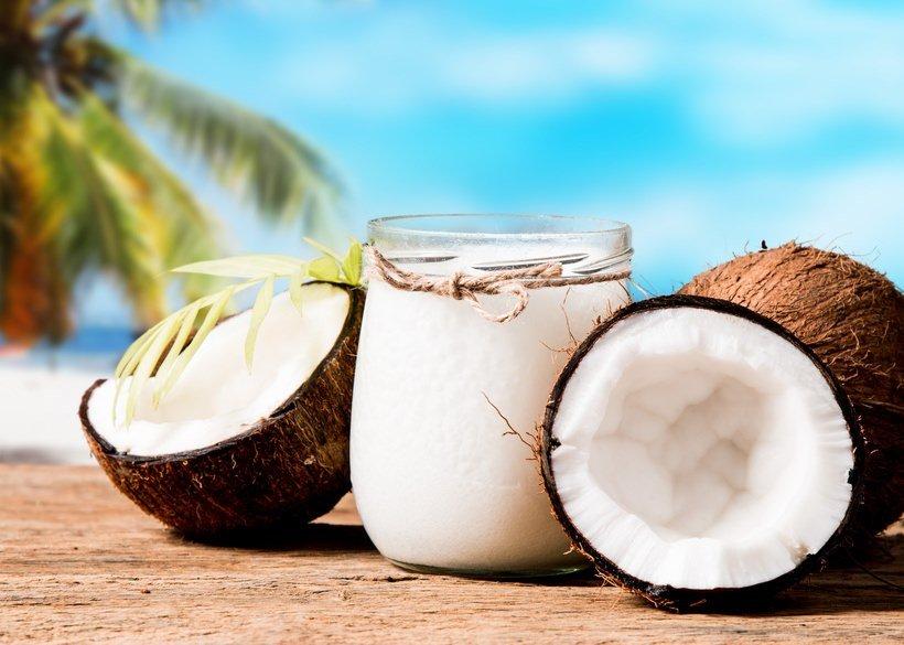 Kokosöl Historie