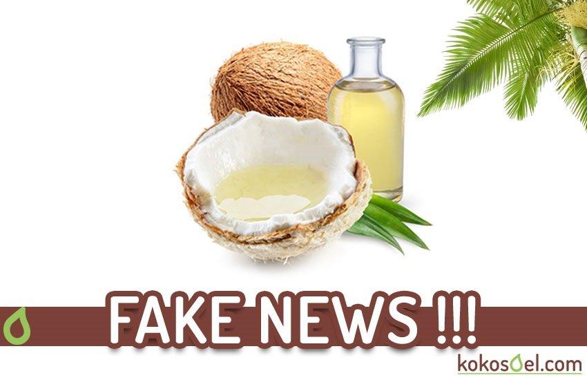 Fake News Kokosöl